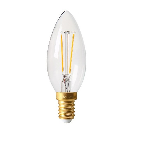 FILAMENT LED 2W E14 2700K 220LM CL.