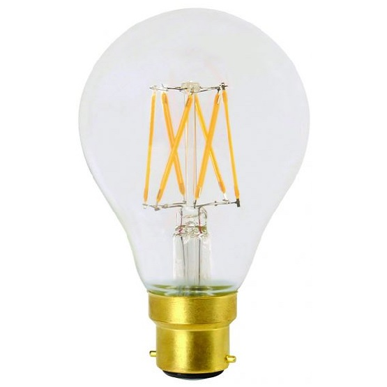 FILAMENT LED 8W B22 2700K 1055LM CL.