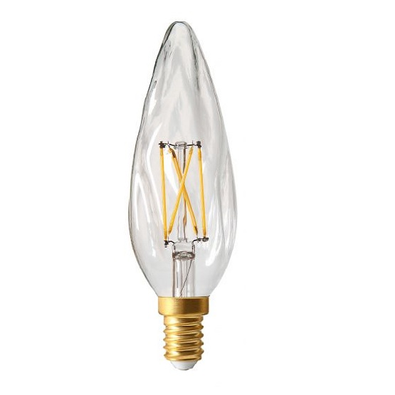FILAMENT LED 4W E14 2700K 320LM DIM. CL.